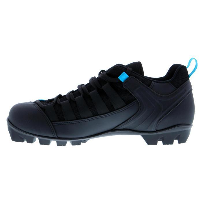Schoenen voor klassieke rolski's volwassenen XC SR BOOTS CLASSIC 500 zwart