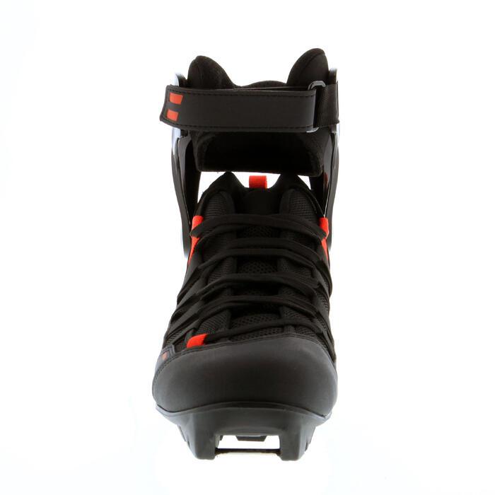 Chaussures de ski roues skating adulte XC SR BOOTS 500 noir