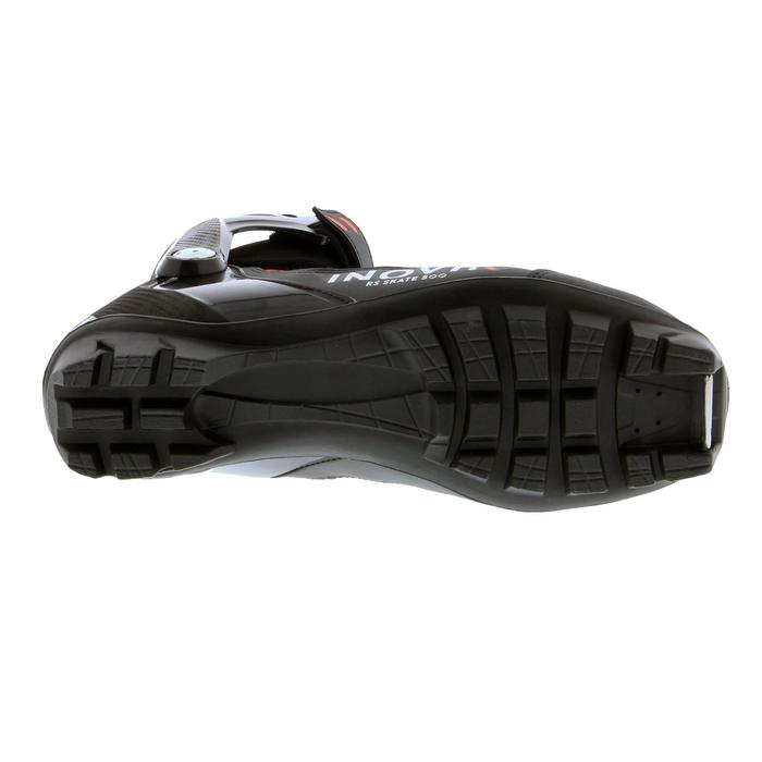 Schoenen voor skating rolskiën volwassenen XC SR BOOTS 500 zwart