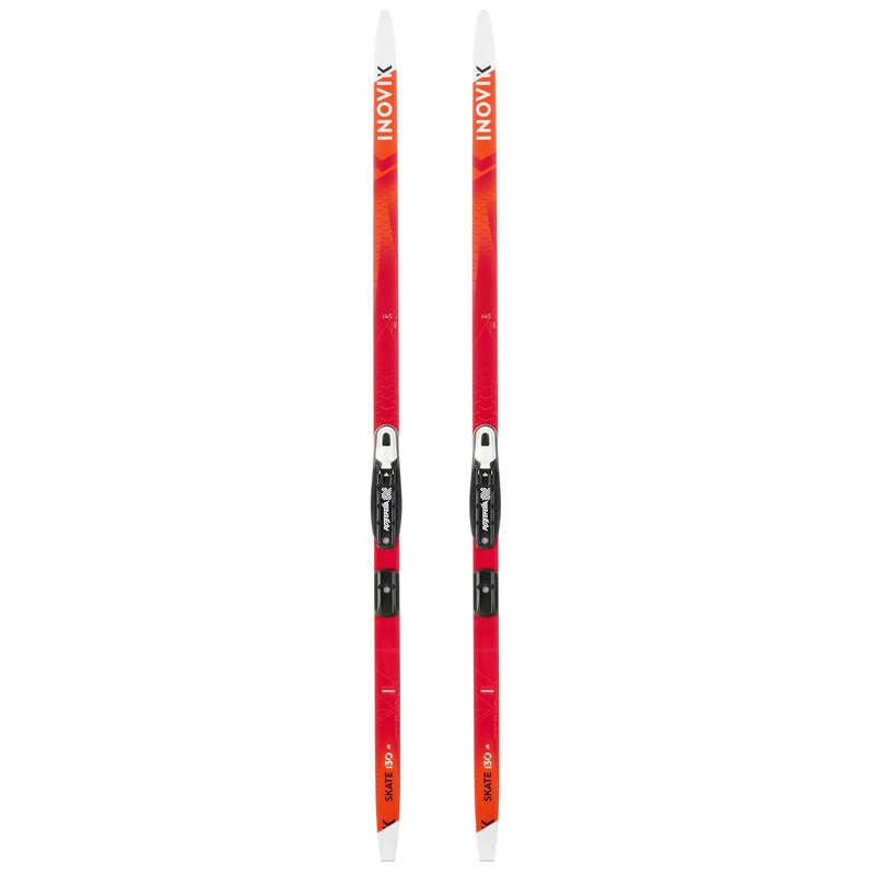 ДЕТСКИЕ БЕГОВЫЕ ЛЫЖИ Беговые лыжи - Беговые лыжи Xc s 130 дет.  INOVIK - Беговые лыжи