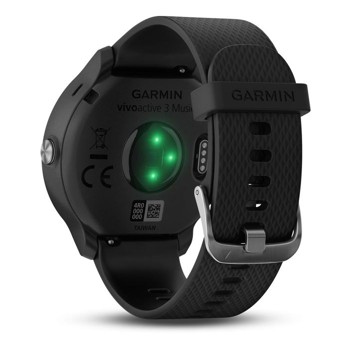 Reloj GPS Pulsómetro Muñeca Music Multideporte Garmin Vivoactive3 Negro Conectad