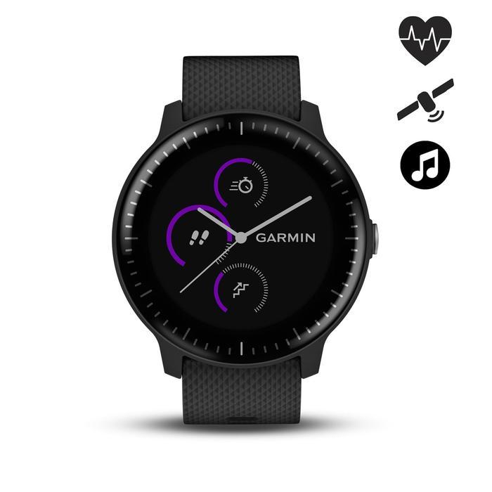 Montre connectée avec cardio au poignet Vivoactive 3 Music noir - 1507494