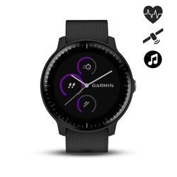 Reloj conectado Vivoactive 3 Music con pulsómetro muñeca y GPS negro