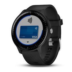 Smartwatch Vívoactive 3 Music met hartslagmeting aan de pols zwart
