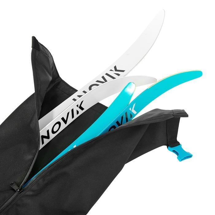 Funda de guardado esquís de fondo adulto XC S COVER 500 negro