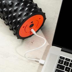電動振動按摩滾筒900/電動按摩泡棉滾筒