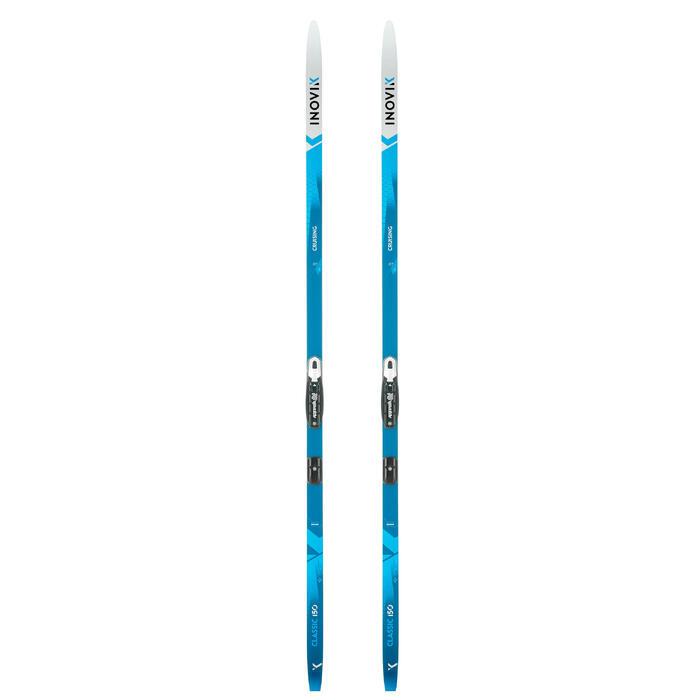 Klassieke langlaufski's met schubben volwassenen XC S SKI 150