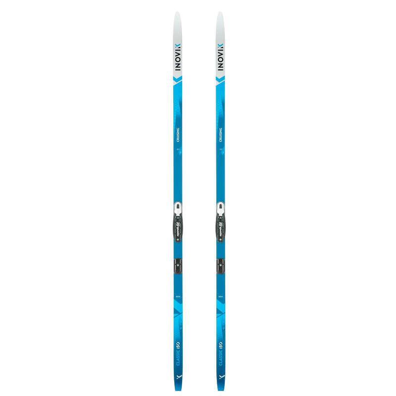 KLASICKÉ BĚŽKY Běžecké lyžování - BĚŽKY NA KLASIKU 150 ŠUPINY INOVIK - Běžky