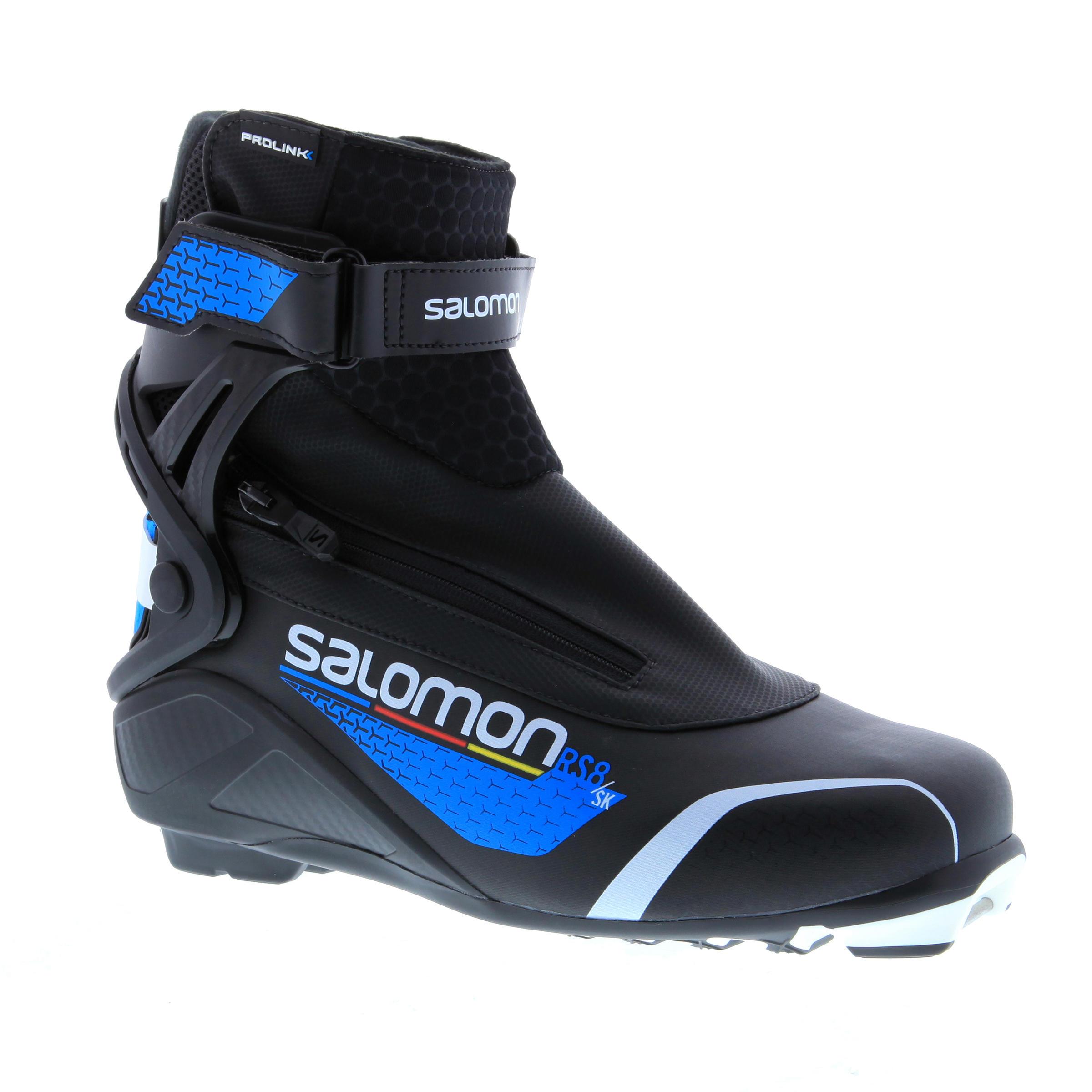 d17eeadffaa Salomon Skating langlaufschoenen voor heren XC S Boots RS8   Decathlon