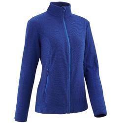 Fleece damesvest voor bergwandelen MH120 blauw