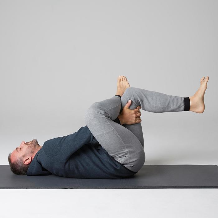 Pantalon 560 slim Gym Stretching homme gris clair
