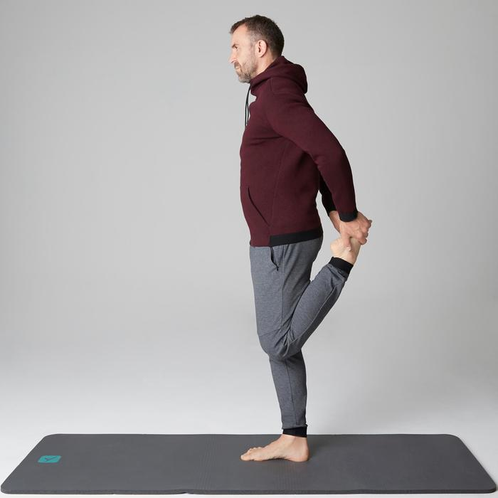 Pantalon 560 slim Gym Stretching homme gris foncé