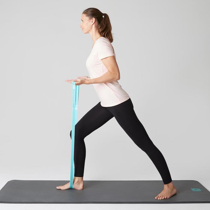 Legging Stretch 100 slim Fitness femme noir