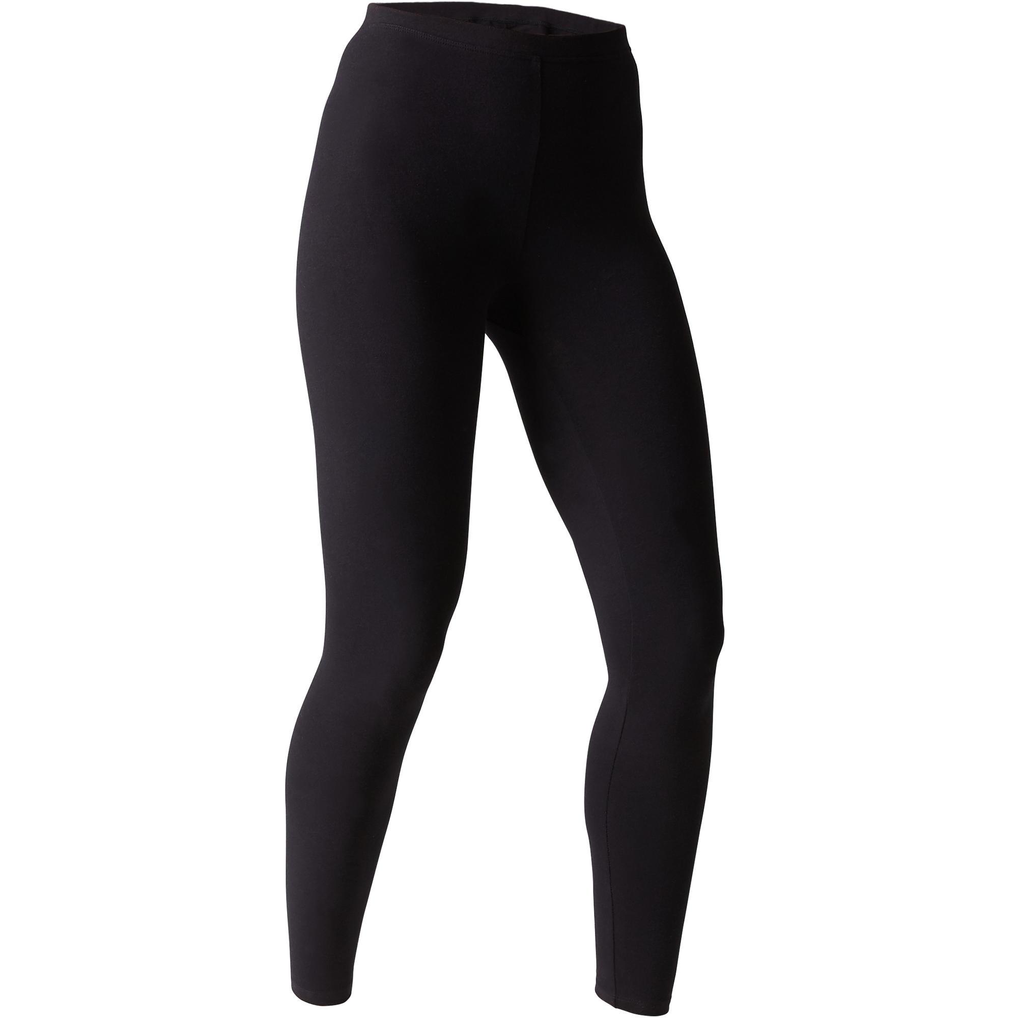 legging stretch 100 slim pilates gym douce femme noir domyos by decathlon 8511784 1507731.jpg 353eafe36b0