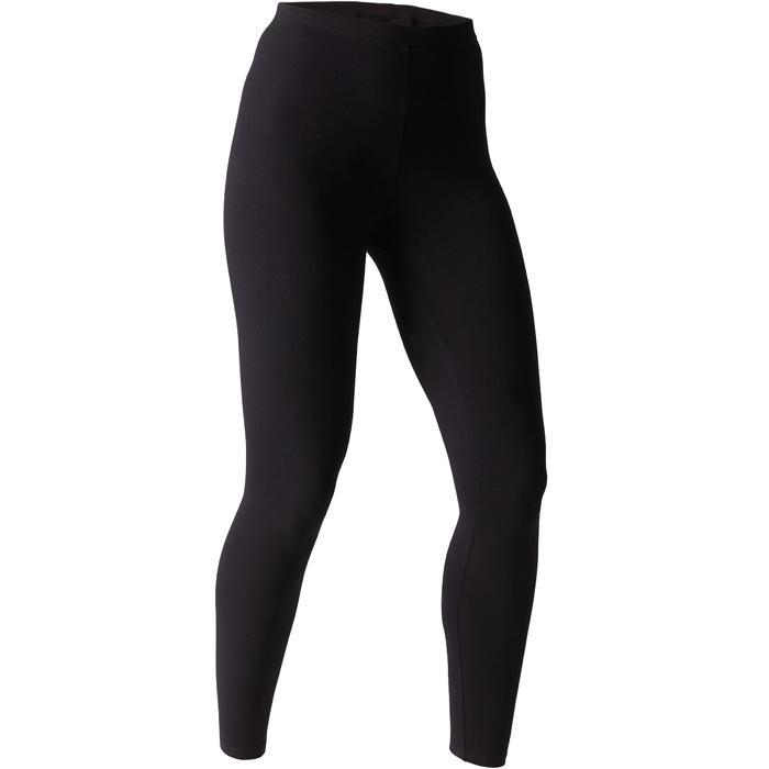 Dameslegging Stretch 100 voor gym en stretching slim fit - 1507731