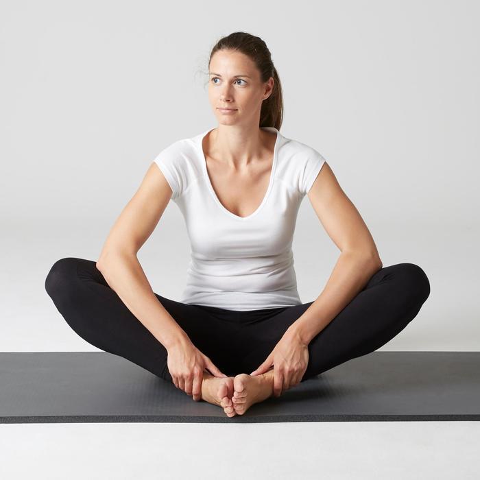 Legging FIT+ 500 slim Gym Stretching femme noir
