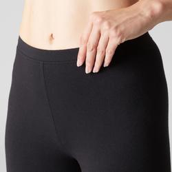 Women's Pilates & Gentle Gym Stretch Sport Leggings - Black