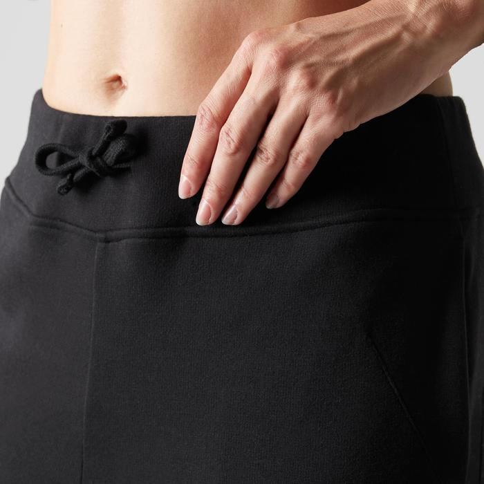 Men's Pilates Gentle Gym Slim-Fit Bottoms 560 - Black