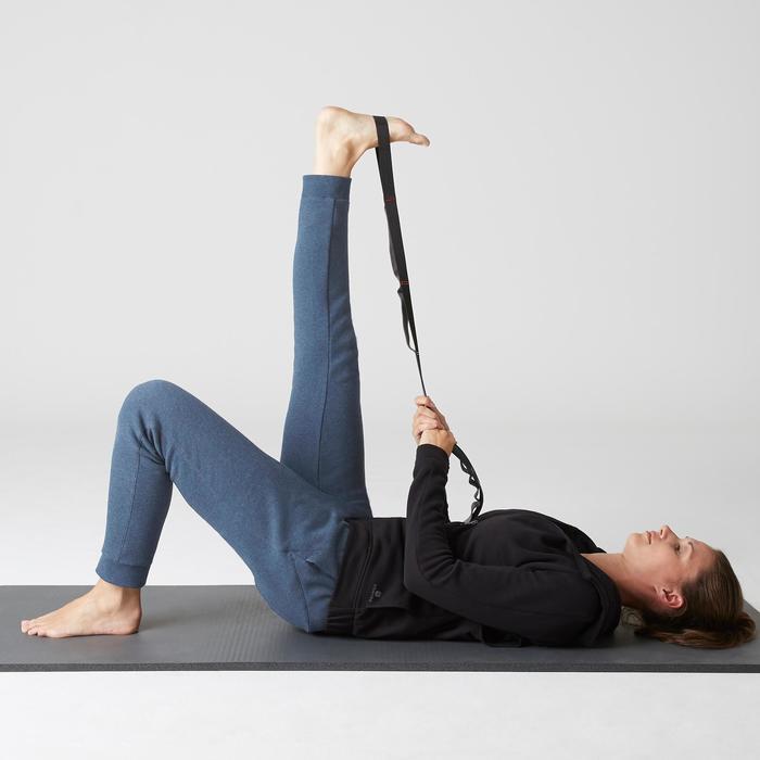 Pantalon 520 slim Gym Stretching femme bleu