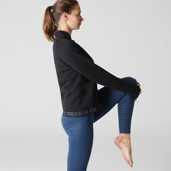 Veste 900 Gym Stretching femme noir