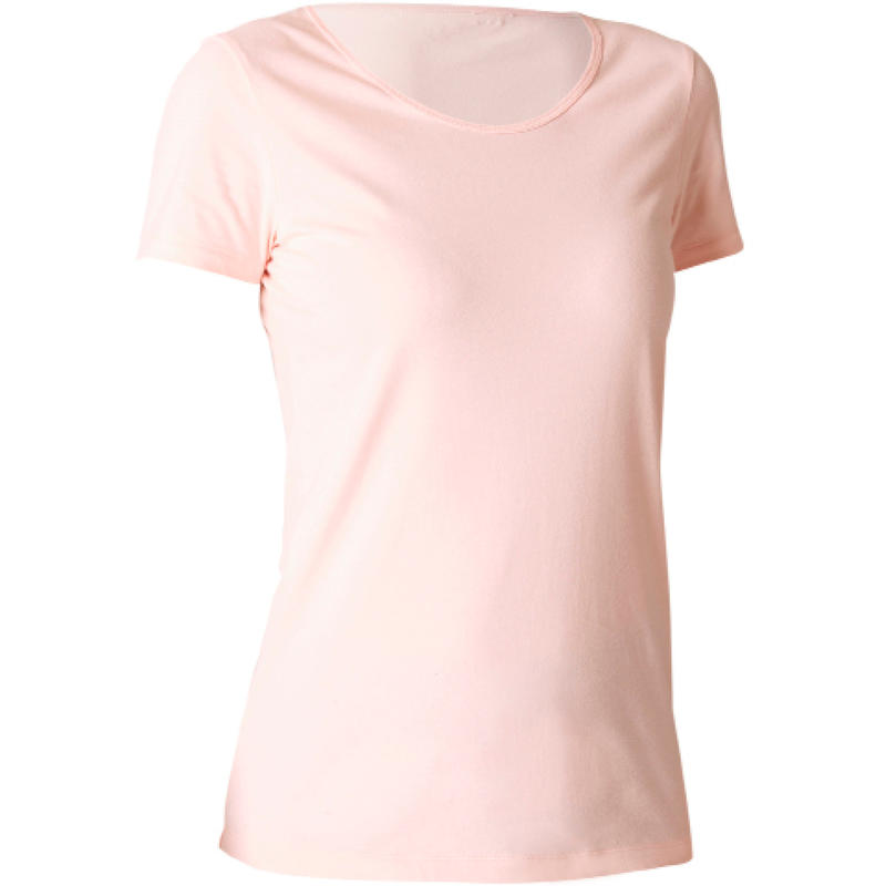 100% Cotton Fitness T-Shirt - Pink