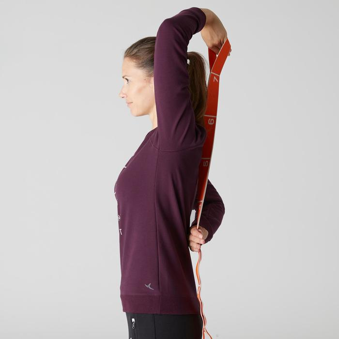 Sweat 500 Gym Stretching femme - 1507913