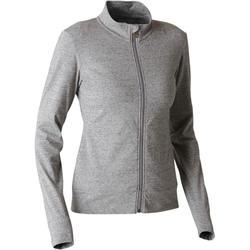 女款皮拉提斯與溫和健身外套100 - 灰色