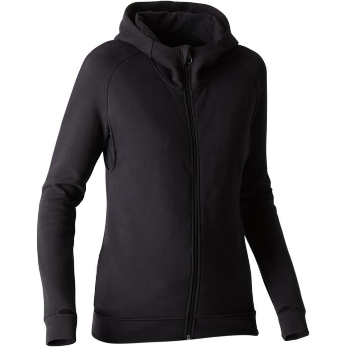 Veste Free Move 540 capuche Gym Stretching femme noir