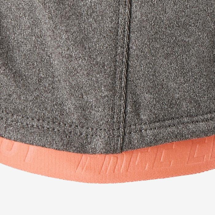 Gym hoodie S900 voor meisjes grijs