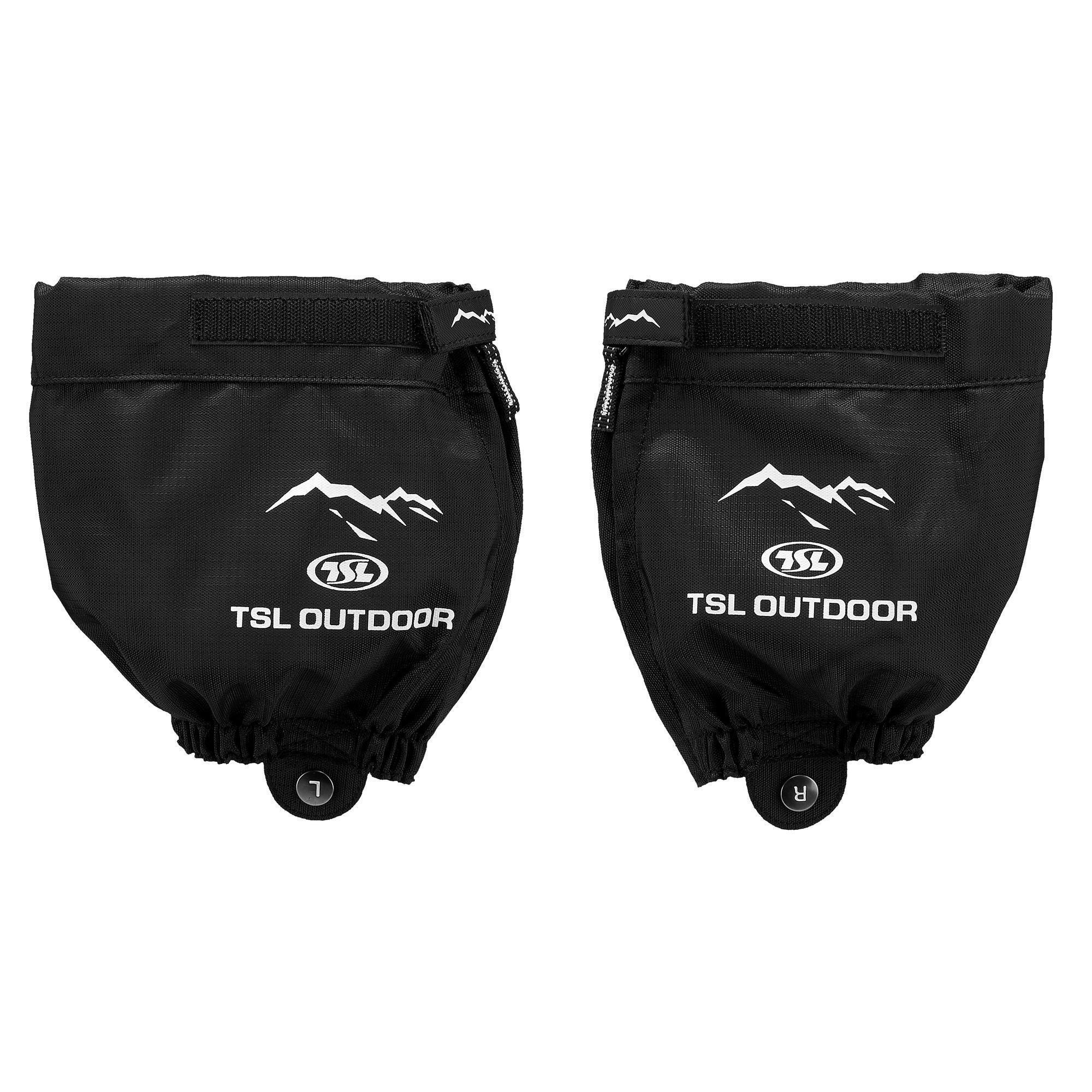 Mini-Gamaschen TSL Outdoor schwarz | Schuhe > Sportschuhe > Gamaschen | Tsl