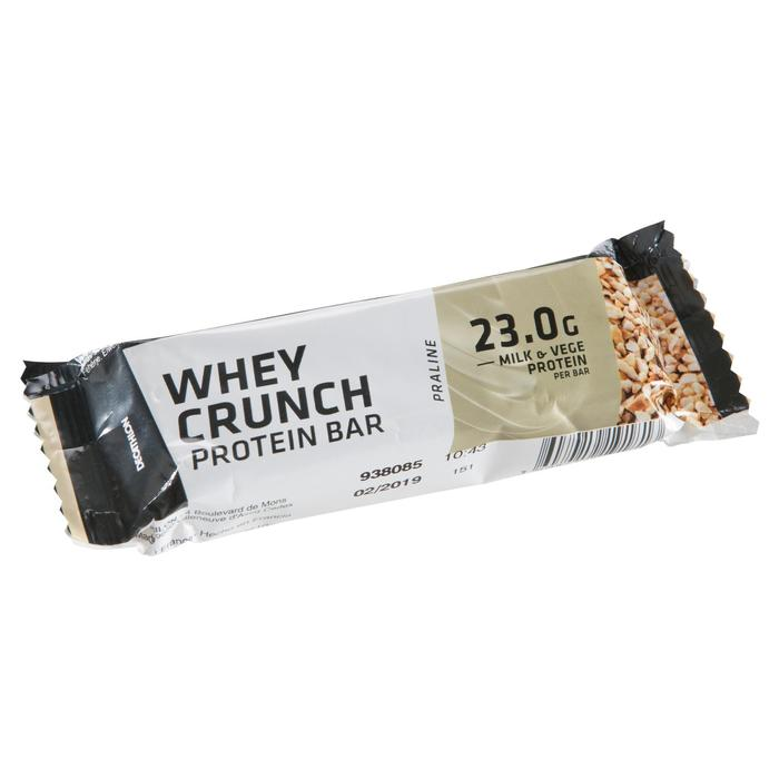 Barrita Proteína Triatlón Domyos Whey Protein Bar Chocolate Praliné 22 G