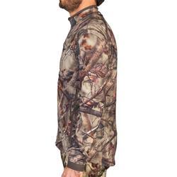 Geluidloze en ademende camouflagejas voor de jacht 500 boscamouflage