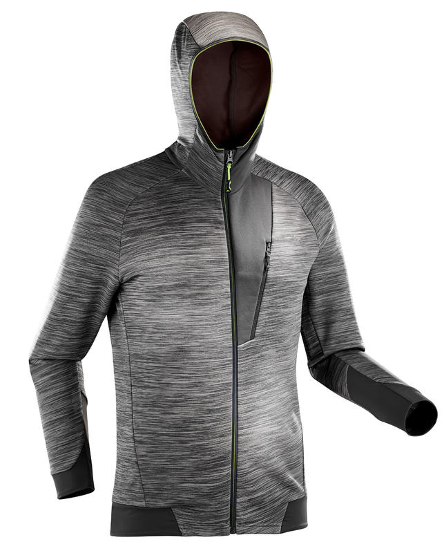 f9f0300ef All Sports>Hiking and Trekking>Hiking>Fleeces and Pullovers>MH900 Men's  Mountain Hiking Fleece Jacket - Mottled grey