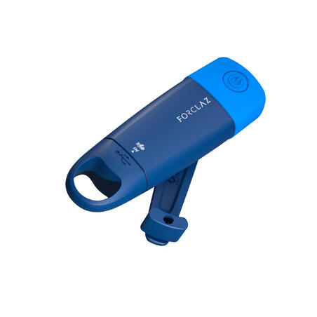 Senter Dapat Diisi Ulang DYNAMO 500 USB V2 Biru - 75 lumens