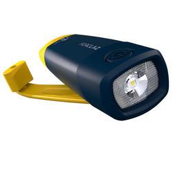 Lanterna e Bateria Externa Autónoma Trekking Dynamo 900 USB -210 Lúmenes Amarelo