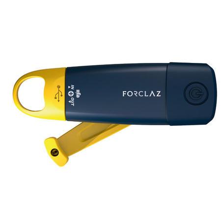ពិល & ថ្មខាងក្រៅបញ្ចូលភ្លើងដោយខ្លួនឯង - DYNAMO 900 USB ពណ៌លឿង - កម្រិត 150 lumens