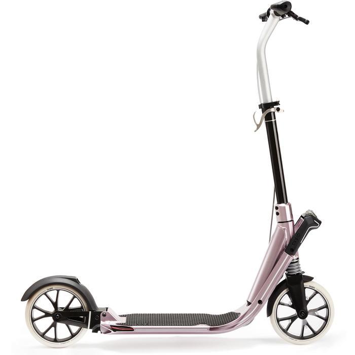 Step voor volwassenen Town 9 EF V2 metallic roze