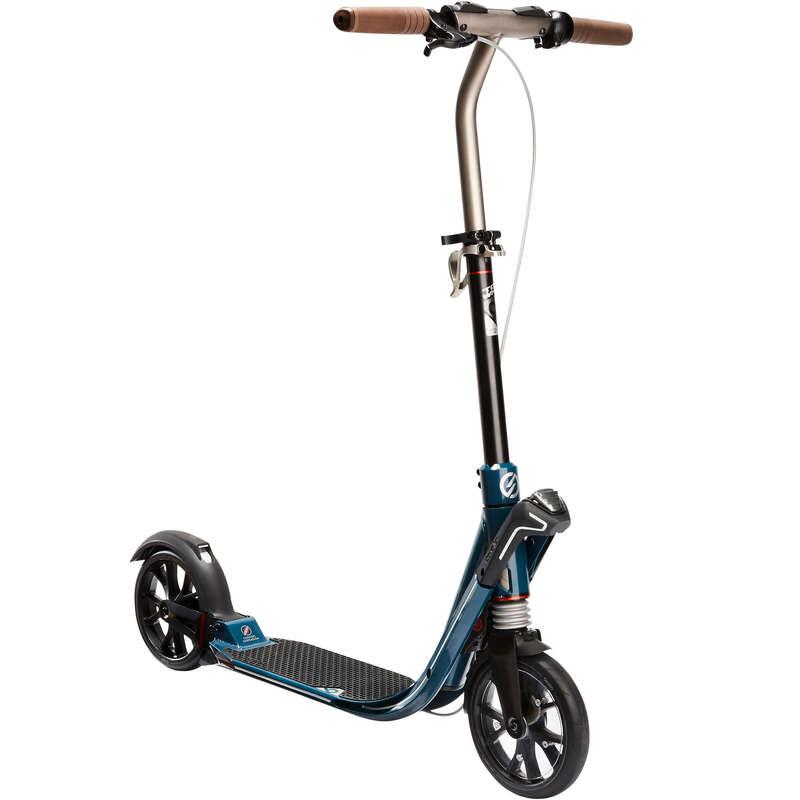 MOBILITA' URBANA Monopattini, Roller, Skate - Monopattino TOWN 9 EF V2 blu OXELO - Monopattino