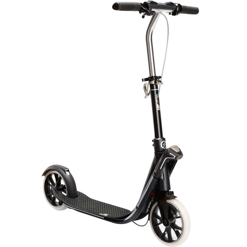 ADULT SCOOTERS Scootering - Town 7 EF V2 - Blue/Black OXELO - Scooters