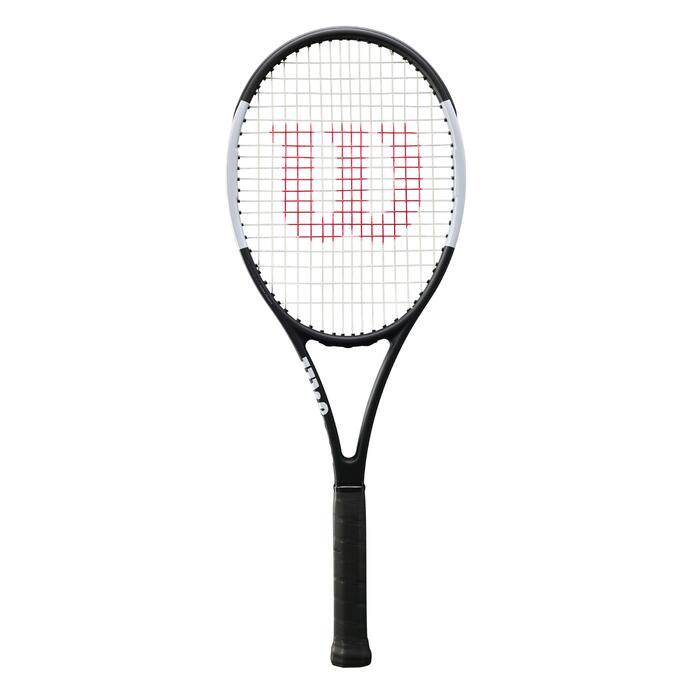 Tennisracket voor volwassenen Pro Staff 97L zwart wit