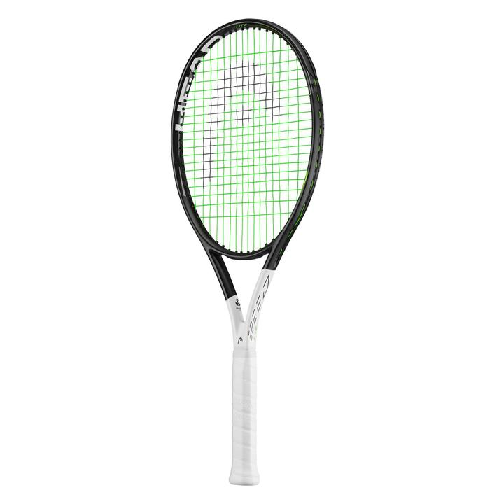 Tennisracket Speed Lite zwart wit