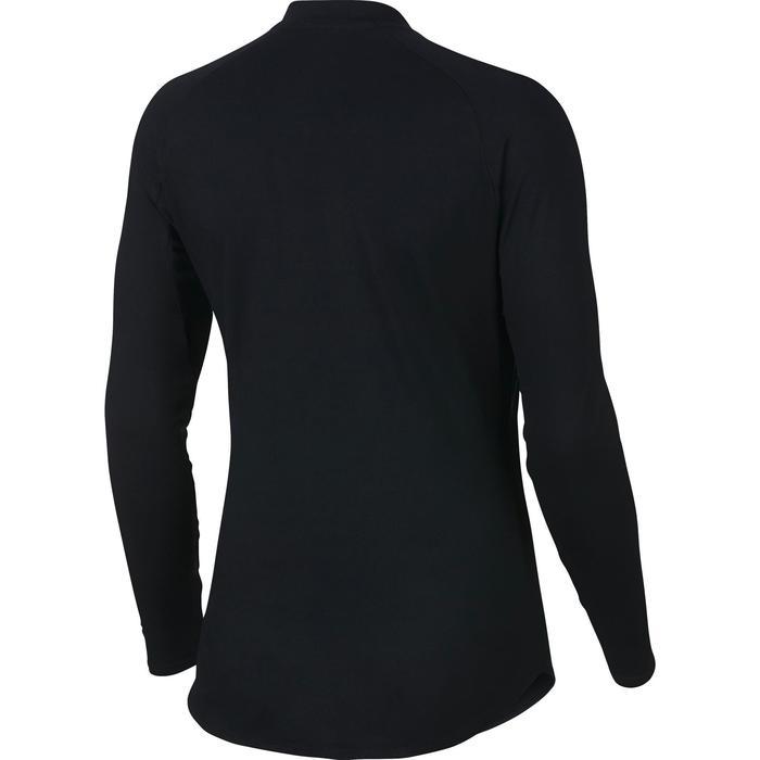 T-shirt lange mouwen dames Nike Dry Pure zwart
