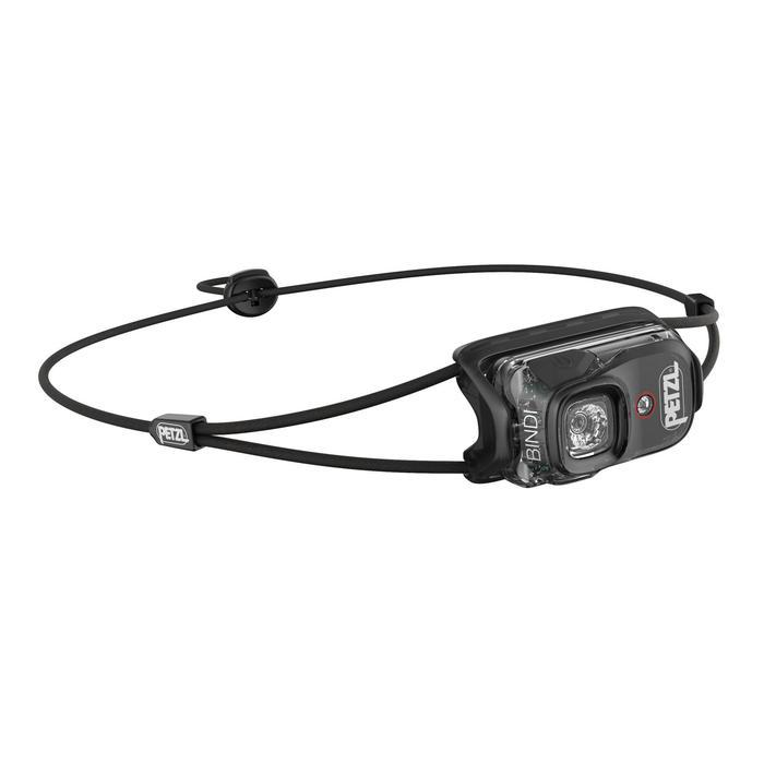 Hoofdlamp voor trekking Bindi zwart - 200 lumen