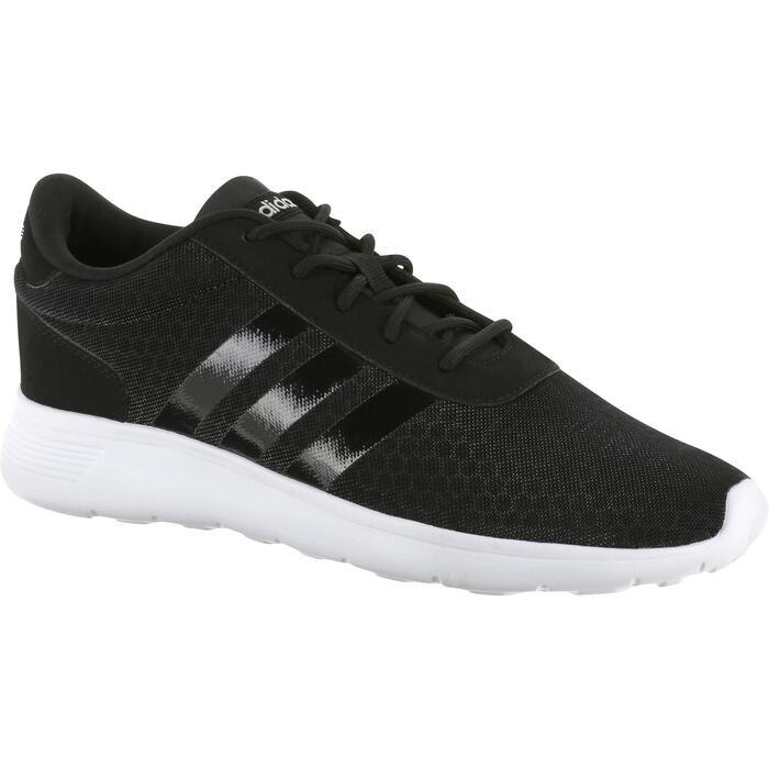 3cfb307fcebf0 Zapatillas de marcha deportiva para mujer Lite Racer negras Adidas ...