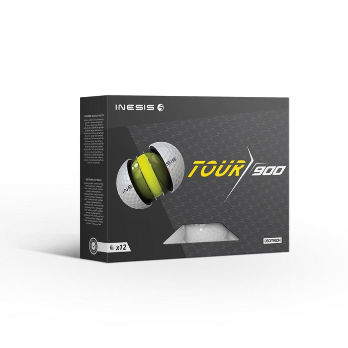Balle de golf TOUR 900 X12 Blanc - 1508577