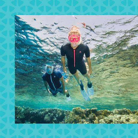 apport flottabilité snorkeling shorty combinaison subea