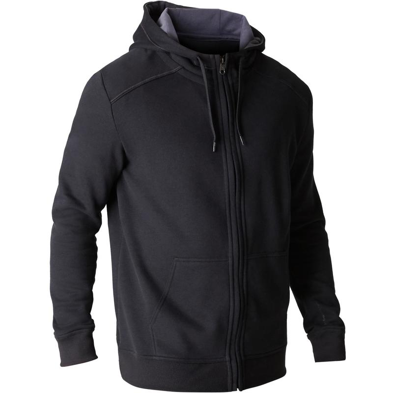 la vente de chaussures site autorisé Royaume-Uni disponibilité Vêtements homme - Veste 900 capuche Pilates Gym douce noir homme