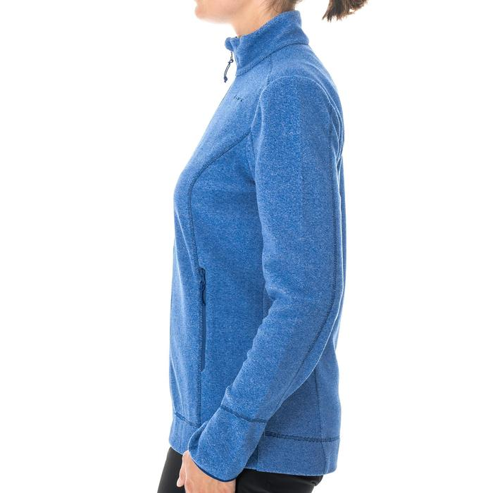 MH120 Women's Mountain Hiking Fleece Jacket - Dark Blue