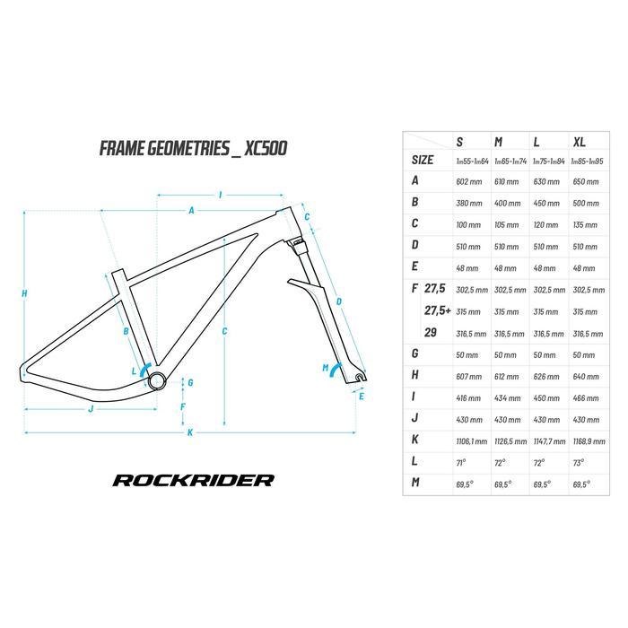 "MTB XC 500 29"" SRAM GX Eagle 1x11-speed mountainbike"
