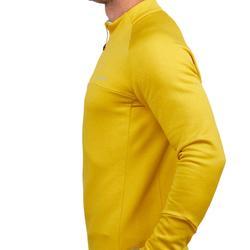 Herenmidlayer voor skiën 500 geel